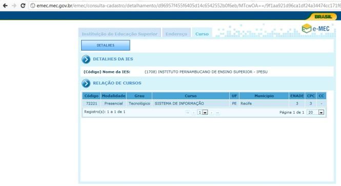 ENADE 2011 (GSI IPESU)