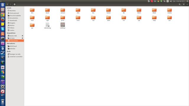 Diretórios do Ubuntu