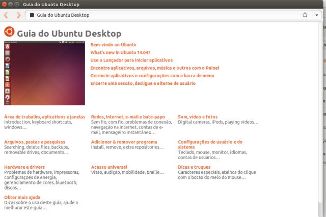 Guia do Ubuntu Desktop