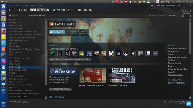 Steam do Diolinux
